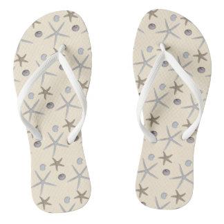 Chanclas Flips-flopes temáticos de la playa