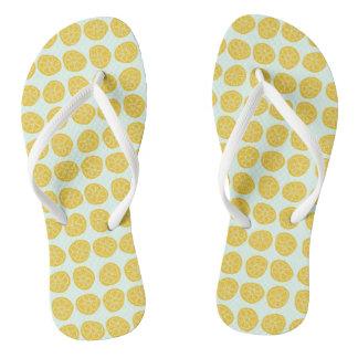 Chanclas Limones por los días - flips-flopes