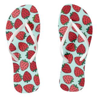 Chanclas Manojos de fresas - flips-flopes
