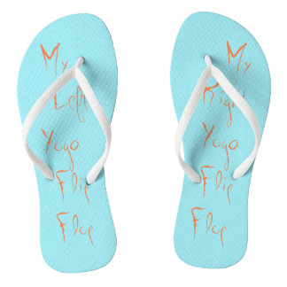 Chanclas Mi flip-flop izquierdo/correcto de la yoga
