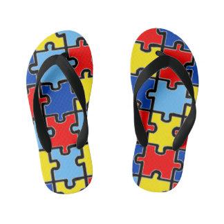 Chanclas Para Niños Balanceos de la conciencia del autismo