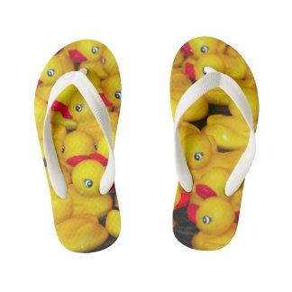 Chanclas Para Niños Modelo de goma amarillo lindo de los duckies