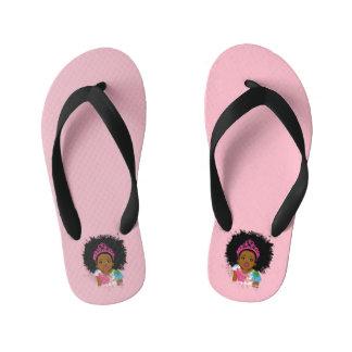 Chanclas Para Niños Princesa flips-flopes de la moca