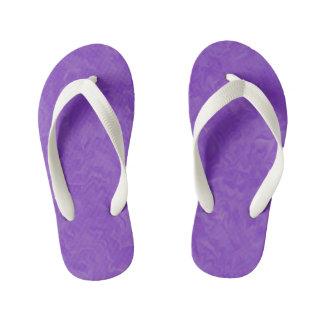 Chanclas Para Niños Sombras remolinadas de la púrpura