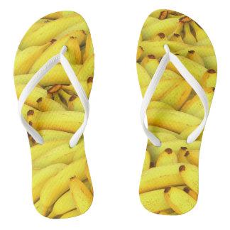 Chanclas Plátano enrrollado de los flips-flopes