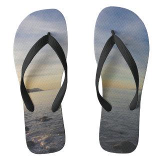 Chanclas Playa rocosa