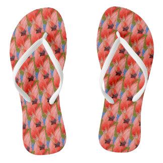 Chanclas Playa rosada tropical la Florida de los balanceos