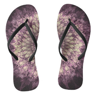 Chanclas Purple Mandala