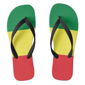 Chanclas Rastafara Power - Rasta reggae Flip fracaso -