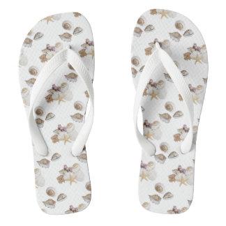 Chanclas Seashells en flips-flopes