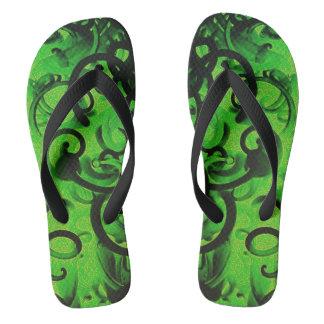 Chanclas Tallarines verdes