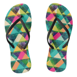 Chanclas Triangles Colorful