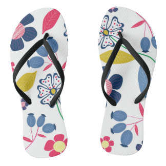 Chanclas Verano de los flips-flopes floral