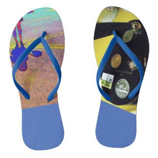 Chanclas Viaje de los flips-flopes del verano de la