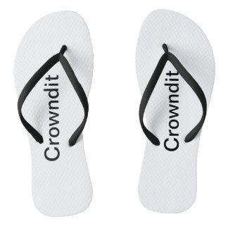 Chanclas Zapatos adultos de la nadada de Crowndit