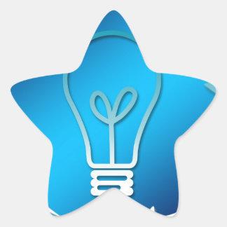 change-948-idea-life-growth-new-better pegatina en forma de estrella