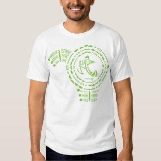 Changling Vo de la Meta-glyphics de Custer NIC Camiseta