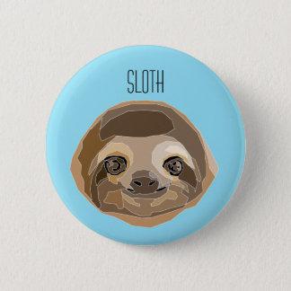 Chapa con ilustración de un Perezoso - Sloth