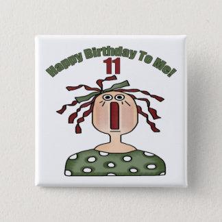 Chapa Cuadrada 11mos regalos de cumpleaños Raggedy de Annie