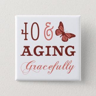 Chapa Cuadrada 40 y envejecimiento agraciado