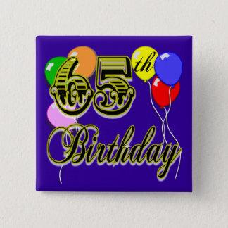 Chapa Cuadrada 65.a mercancía feliz del cumpleaños