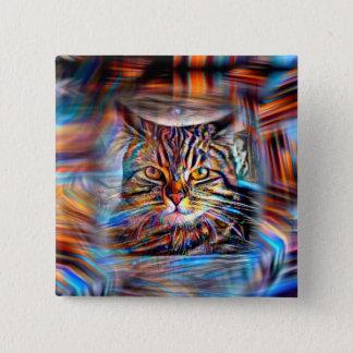 Chapa Cuadrada A la deriva en gato abstracto de la revolución de