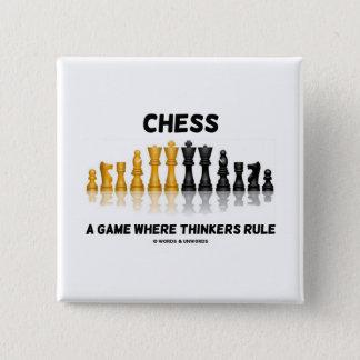 Chapa Cuadrada Ajedrez un juego donde los pensadores gobiernan