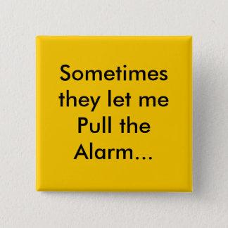 Chapa Cuadrada alarma