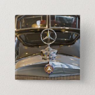 Chapa Cuadrada Alemania, Baden-Wurttemberg, Stuttgart. Mercedes