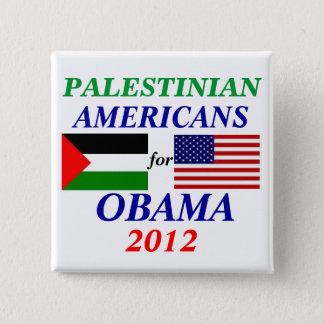 Chapa Cuadrada americanos palestinos para Obama