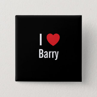 Chapa Cuadrada Amo a Barry