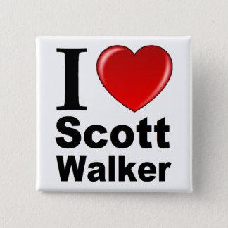 Chapa Cuadrada Amo al caminante de Scott
