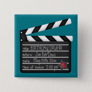 Chapa Cuadrada Añada a su propio director de película de las
