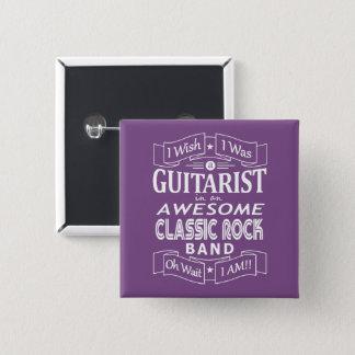 Chapa Cuadrada Banda de rock clásica impresionante del