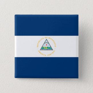 Chapa Cuadrada Bandera de Nicaragua