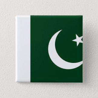 Chapa Cuadrada Bandera de Paquistán