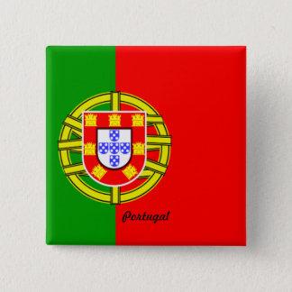 Chapa Cuadrada Bandera de Portugal