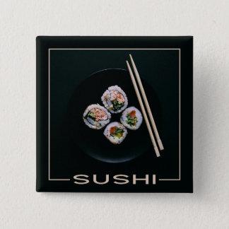 Chapa Cuadrada botones del sushi