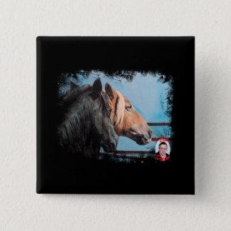 Chapa Cuadrada Caballos/Cabalos/Horses