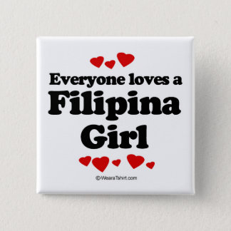 Chapa Cuadrada Cada uno ama a una filipina