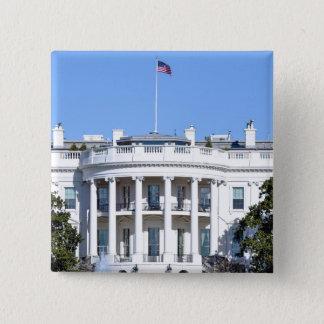 Chapa Cuadrada Casa Blanca de los Estados Unidos - Washington DC