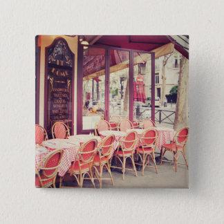 Chapa Cuadrada Cena en fresco del Al de París