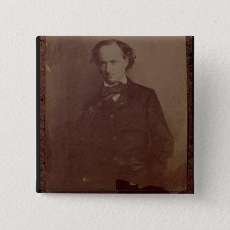 Chapa Cuadrada Charles Baudelaire (1820-1867), poeta francés,