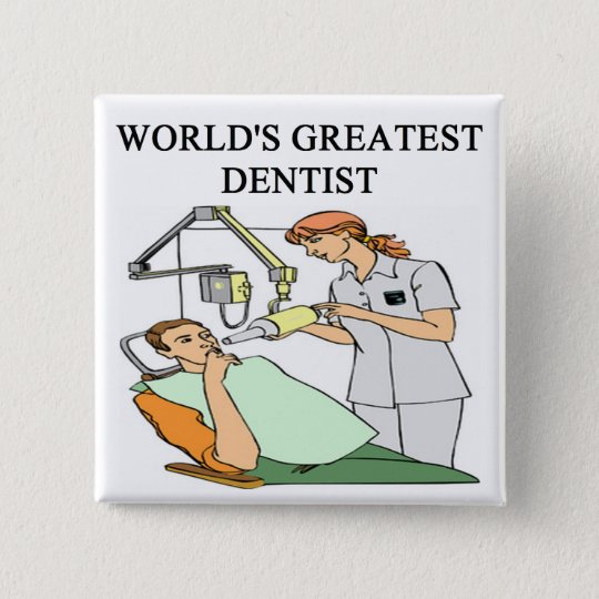 Chapa Cuadrada Chiste Del Dentista Zazzlees