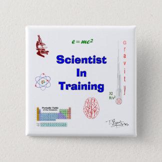 Chapa Cuadrada Científico en el entrenamiento