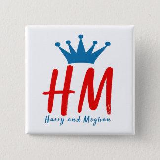 Chapa Cuadrada Cuando Harry resolvió Meghan