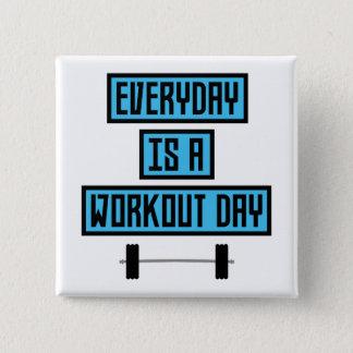 Chapa Cuadrada Día diario Z852m del entrenamiento