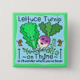 d0d2de5cb Chapa Cuadrada Dibujo animado vegetal del retruécano de la