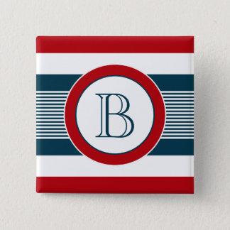 Chapa Cuadrada Diseño del monograma