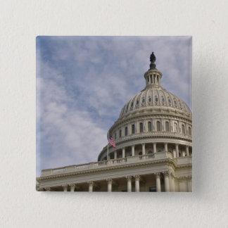 Chapa Cuadrada Edificio de Capitol Hill en Washington DC